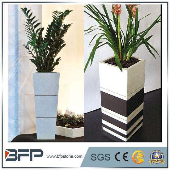 China Granite Flower Pots & Planters - China Flower Pot, Stone Pot on