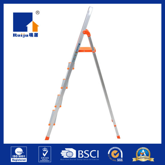 Light Aluminium Household Ladder 5 Step pictures & photos