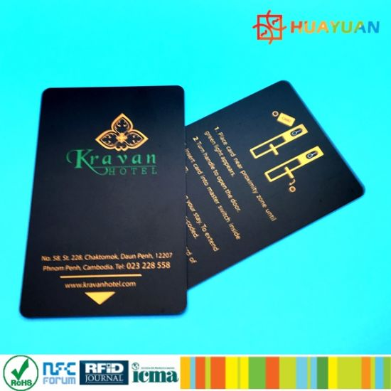 RFID hybrid MIFARE Classic 1k + 9662 UHF smart Card pictures & photos