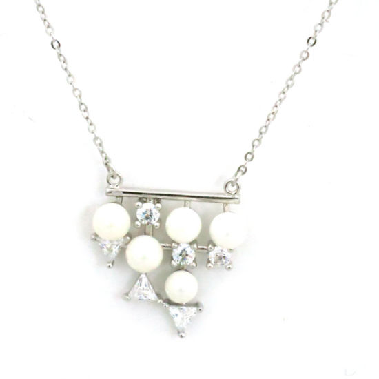 Special and New Fashion Silver Women Jewellery Pearl Necklace (N6643) pictures & photos