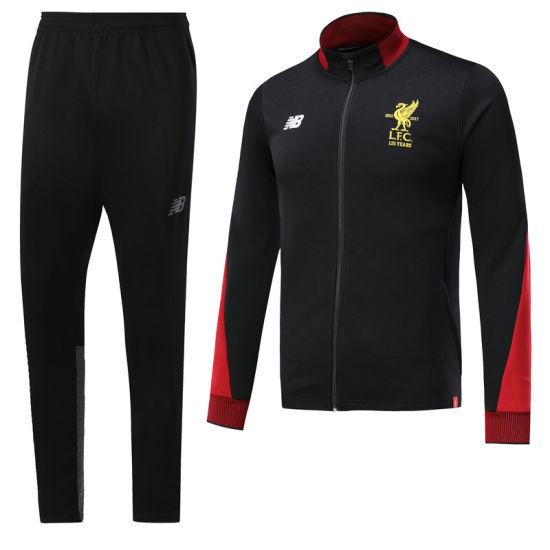 sale retailer 4f736 f623f Personalized Top Quality L-I-V-E-R-P-O-O-L Football Soccer Tracksuit  Sweatshirt Training Suits