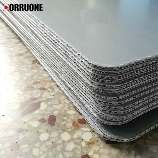 Corrugated Honeycomb Plastic Sheets for Turnover Box