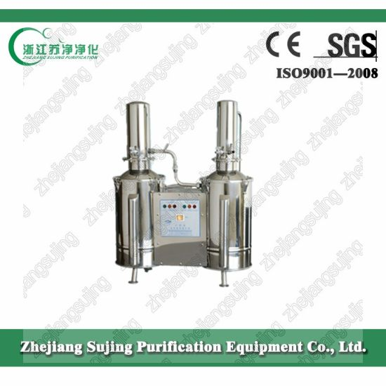 Dz Series Stainless Steel Electric Double Distillerd Water Distiller pictures & photos