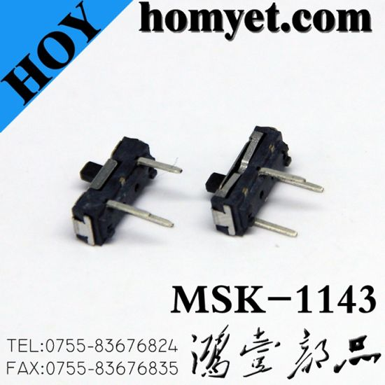 2pin SMD Type Slide Switch (MSK-1143S) pictures & photos