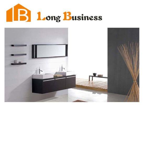 Modern Black Lacquer Bathroom Cabinet, Black Mirrored Bathroom Cabinet