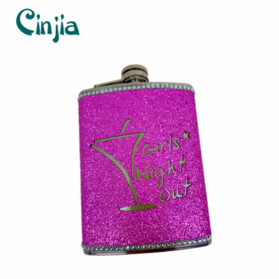 8 Oz New Design Stainless Steel Hip Flask pictures & photos