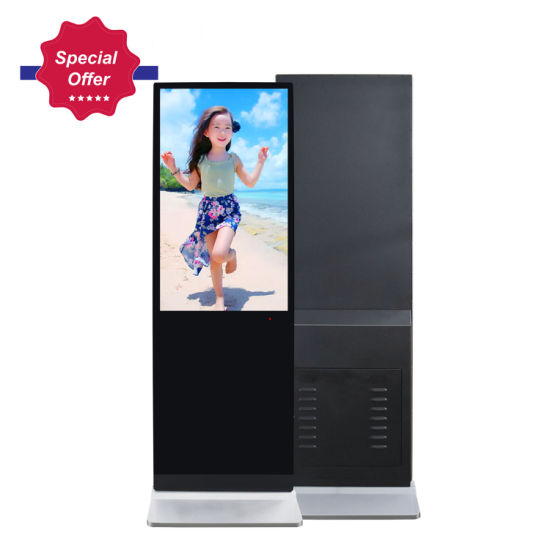 32 Inch Photo Booth Kiosk Touch Screen Free Standing Digital Signage pictures & photos