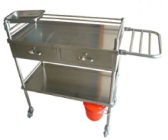 Economic Stainless Steel Medical Trolley (THR-MT014) pictures & photos