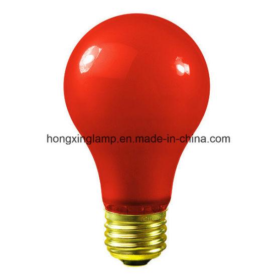 Color GLS Incandescent Bulb (A19)