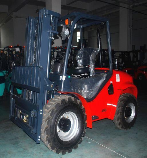 2.5 Ton Rough Terrain Forklift Truck
