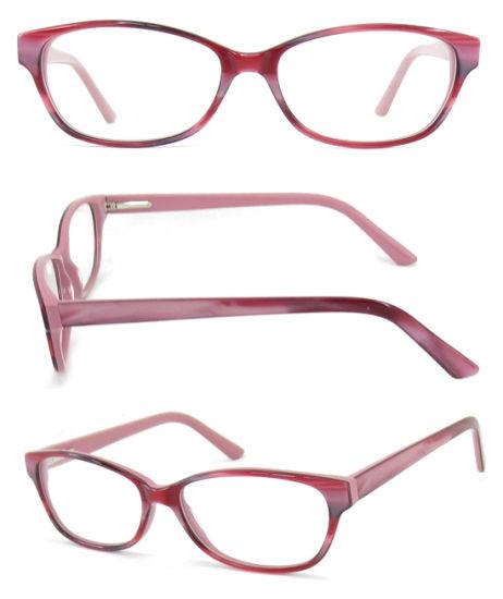 Wholesaler Optical Frames Acetate Special for Lady