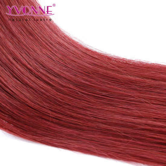 Color #37 Straight I Tip Human Hair Extensions pictures & photos