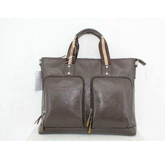 Top Grian Leather Briefcase Man Bag pictures & photos