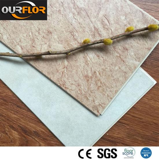Ceramic-Like PVC Flooring / WPC Vinyl Floor Tiles