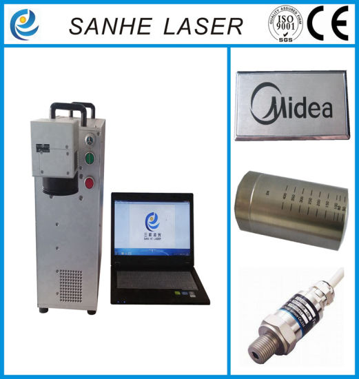 Portable Flying Fiber Laser Marking Machine with High Precision pictures & photos