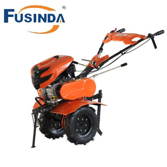 Gasoline Engine Powered Rotary Tiller Cultivator pictures & photos