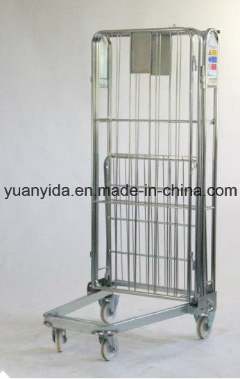 Logistical Zinc Plating Hand Trolley pictures & photos