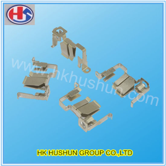 Manufacture Stamping Brass Electrical Contacts (HS-BC-0041) pictures & photos