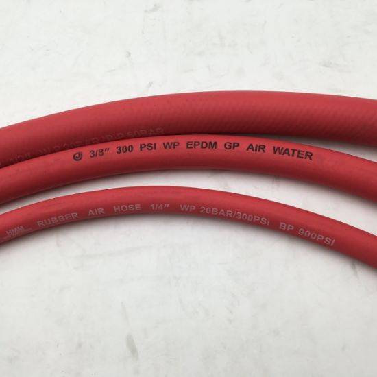 Smooth Surface Red Air Hose/Jack Hammer Hose
