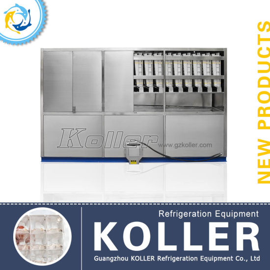Koller Stable Crystal Ice Cube Machine for 5 Tons Capacity pictures & photos