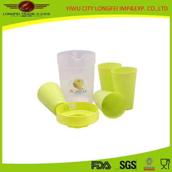 Beautiful Plastic Water Jug Set pictures & photos
