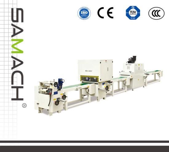 Three Sides UV Spray Production Line