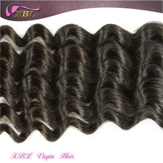 Original Indian Temple Hair Natural Raw Indian Hair Weft pictures & photos