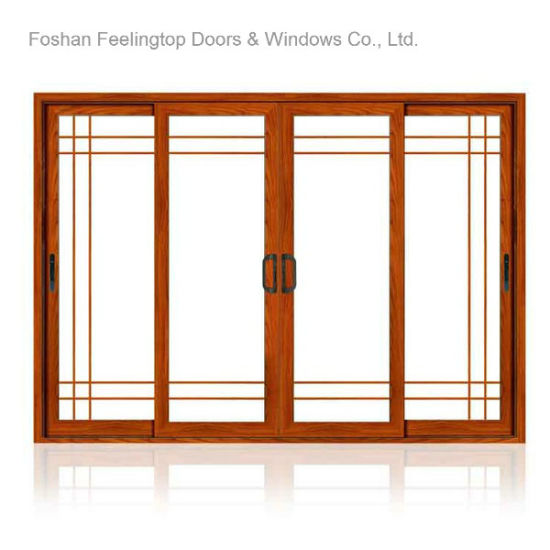 China Thermal Break Aluminum Frame Horizontal Sliding Windows (FT ...
