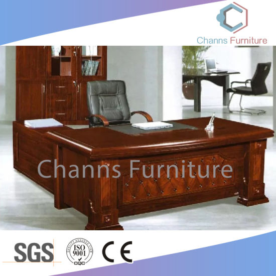 Luxury Office Desk MDF Executive Table For Manager (CAS SW1707)