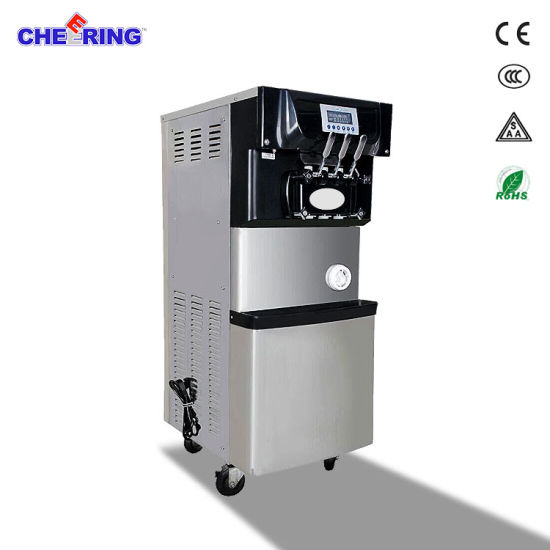 Commercial Stainless Steel Soft Serve Ice Cream Machine