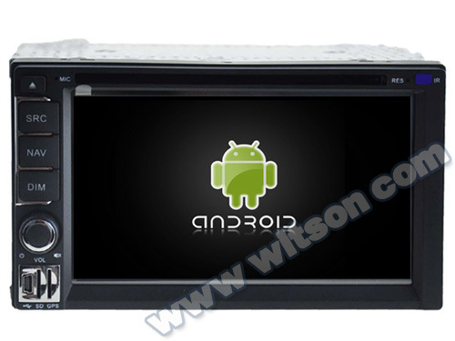 Witson Android 5.1 Car DVD GPS for Universal Double DIN with Chipset 1080P 16g ROM WiFi 3G Internet DVR Support (A5722) pictures & photos