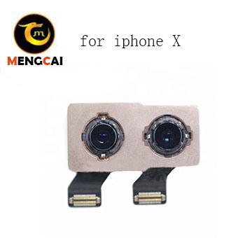 New Back Camera Module for iPhone X Mobile Phone Rear Big Camera Flex