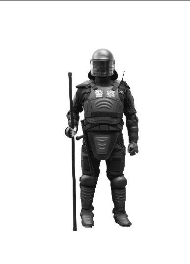 Police Anti Riot Suit for Safety Use