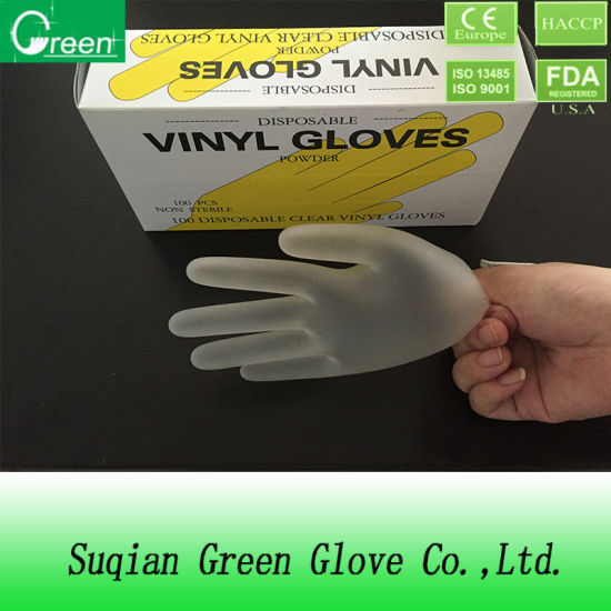 Vinyl Industry Gloves Cleaning Glove pictures & photos