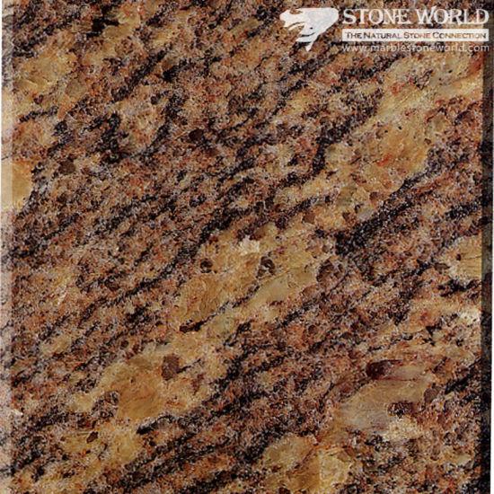 Polished Giallo California Granite For Countertops U0026 Vanities (MT034)