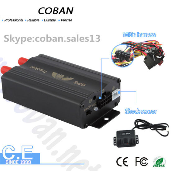 China GSM GPS Vehicle Tracker Device Coban Tk103 with Remote Engine