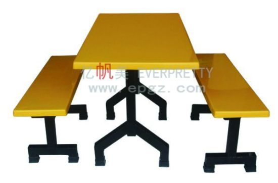 Pleasant China Colorful Dining Set Fiberglass Canteen Table Benches Ocoug Best Dining Table And Chair Ideas Images Ocougorg