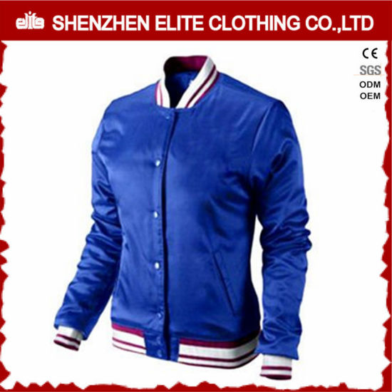 3e86bcc52 China Blue 100% Polyester Quilted Bomber Jacket Women - China 100 ...
