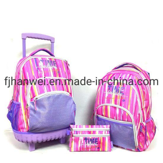 Best Seller Polyester Trolley School Bag