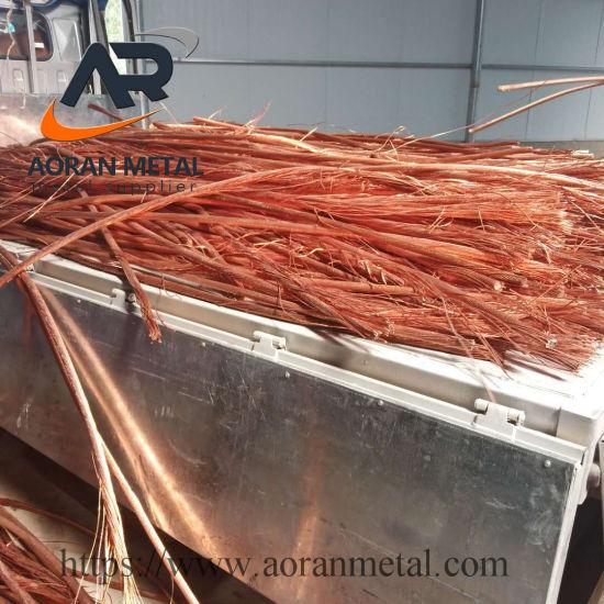 High Quality Millberry 99.99% Copper Wire Scrap /Copper Scrap