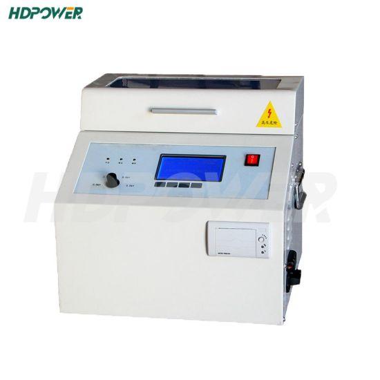 High Voltage Test Equipment 100kv Bdv Tester Transformer Oil Dielectric Strength Testing Equipment Insulation Oil Breakdown Tester
