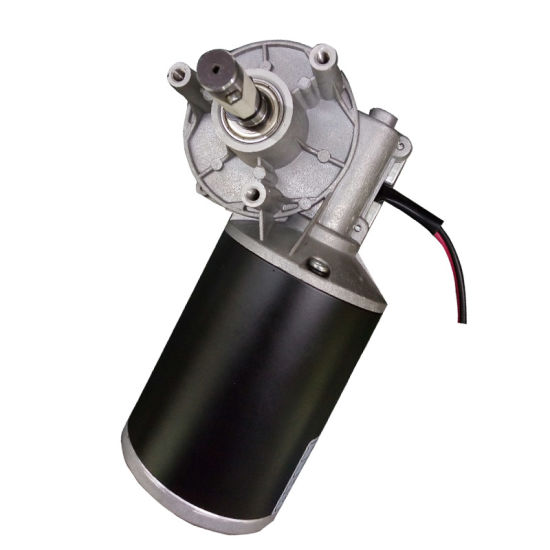 DC 12V 24V Reversible High Torque 25nm Turbo Worm Gear Motor