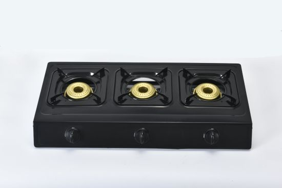 Worth Buying Stainless Steel Gas Cooker with 3 Burners (ZG-3092BK)