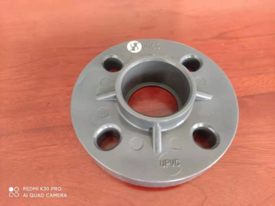 Quality Sch80 Plastic Pipe Fitting PVC Flange Factory Sale 3/4''