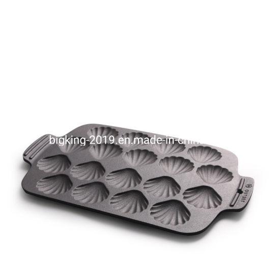Cast Iron Shell Baking Tray Cake Mold