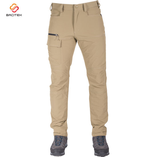 Popular Men Slim Fit Work Trousers Casual Fashion Cargo Pants pictures & photos