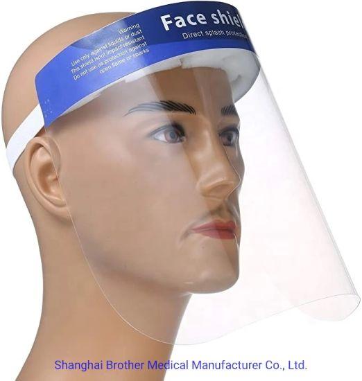 Transparent Pet Glasses Frame Protection Visor and Face Shield
