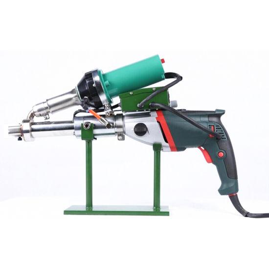 Automatic Hand HDPE Plastic Extruder Welding Machine Equipment