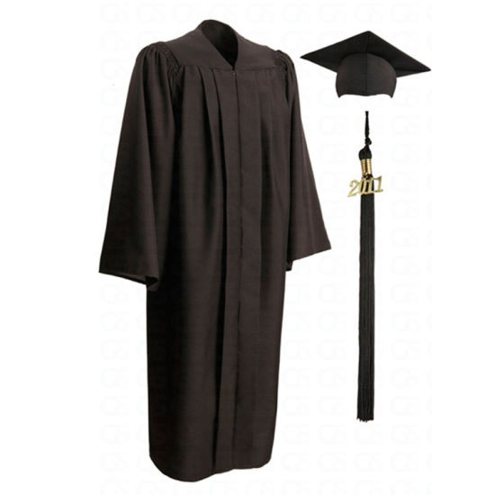 College Graduation Gown and Graduation Stoles