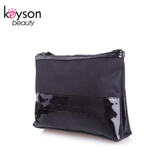 Factory Price Travel Make up Pouch Synthetic Leather Cosmetic Bag pictures & photos